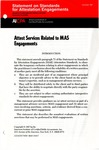 Attest services related to MAS engagements; Statement on standards for attestation engagements, 1987, Dec