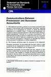 Communications between predecessor and successor accountants
