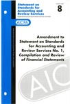 Amendment to Statement on standards for accounting and review services no. 1, Compilation and review of financial statements