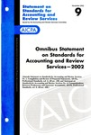 Omnibus statement on standards for accounting and review services, 2002; Statement on standards for accounting and review services 9
