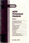 AICPA Professional Standards: Statements on standards for tax services as of June 1, 2001