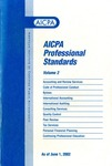 AICPA Professional Standards: Statements on standards for tax services as of June 1, 2002