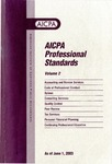 AICPA Professional Standards: Statements on standards for tax services as of June 1, 2003
