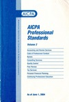 AICPA Professional Standards: Statements on standards for tax services as of June 1, 2004