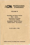 AICPA Professional Standards: Accounting and Review Standards as of June 1, 1985
