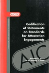 Codification of Statements on standards for attestation engagements as of January 1, 2006, numbers 1 to 13 by American Institute of Certified Public Accountants. Auditing Standards Board
