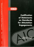Codification of Statements on standards for attestation engagements as of January 1, 2007, numbers 1 to 14 by American Institute of Certified Public Accountants. Auditing Standards Board