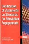 Codification of Statements on standards for attestation engagements as of January 1, 2008, numbers 1 to 14 by American Institute of Certified Public Accountants. Auditing Standards Board