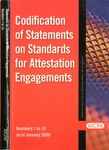 Codification of Statements on standards for attestation engagements as of January 1, 2009, numbers 1 to 15 by American Institute of Certified Public Accountants. Auditing Standards Board