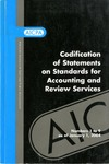 Codification of statements on standards for accounting and review services as of January 1, 2004, numbers 1 to 9 by American Institute of Certified Public Accountants. Accounting and Review Services Committee