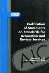 Codification of statements on standards for accounting and review services as of January 1, 2006, numbers 1 to 14 by American Institute of Certified Public Accountants. Accounting and Review Services Committee