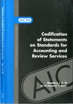 Codification of statements on standards for accounting and review services as of January 1, 2007, numbers 1 to 14 by American Institute of Certified Public Accountants. Accounting and Review Services Committee