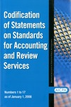 Codification of statements on standards for accounting and review services as of January 1, 2008, numbers 1 to 17 by American Institute of Certified Public Accountants. Accounting and Review Services Committee
