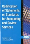 Codification of statements on standards for accounting and review services as of January 1, 2009, numbers 1 to 18 by American Institute of Certified Public Accountants. Accounting and Review Services Committee