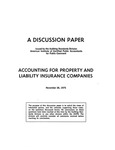 Discussion Paper: Accounting for Property and Liability Insurance Companies, November 26, 1975