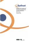 AICPA/CICA SysTrust : principles and criteria for systems reliability : version 2.0 January 2001