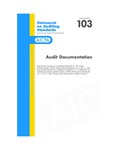 Audit documentation; Statement on auditing standards, 103