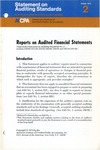 Reports on audited financial statements; Statement on auditing standards, 002