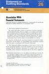 Association with financial statements