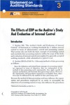 Effects of EDP on the auditor's study and evaluation of internal control; Statement on auditing standards, 003