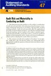 Audit risk and materiality in conducting an audit