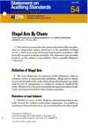 Illegal acts by clients; Statement on auditing standards, 054