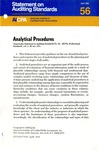 Analytical procedures by American Institute of Certified Public Accountants. Auditing Standards Board