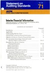 Interim financial information by American Institute of Certified Public Accountants. Auditing Standards Board