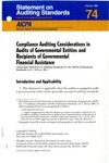 Compliance auditing considerations in audits of governmental entities and other recipients of governmental financial assistance
