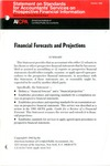 Financial forecasts and projections; Statement on standards for accountants' services on prospective financial information, Oct. 1985