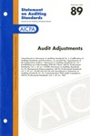 Audit adjustments by American Institute of Certified Public Accountants. Auditing Standards Executive Committee