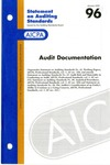 Audit Documentation by American Institute of Certified Public Accountants. Auditing Standards Executive Committee