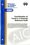 Consideration of fraud in a financial statement audit by American Institute of Certified Public Accountants. Auditing Standards Executive Committee