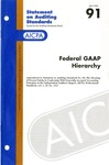 Federal GAAP hierarchy by American Institute of Certified Public Accountants. Auditing Standards Executive Committee
