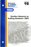 Omnibus statement on auditing standards--2002 by American Institute of Certified Public Accountants. Auditing Standards Executive Committee