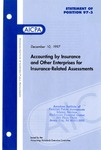Accounting by insurance and other enterprises for insurance-related assessments