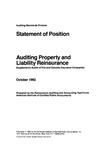 Auditing property and liability reinsurance