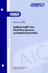 Auditing health care third-party revenues and related receivables
