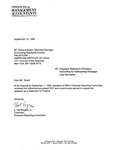 Comment letters to proposed statement of position: Accounting by participating Mortgage loan borrowers