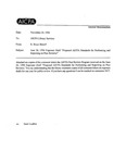 Comment letters to Exposure draft proposed AICPA Standards for Performing and Reporting on peer reviews;