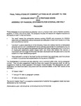 Comment letters 1-183 for exposure draft proposed statement on standards for accounting and review services: Assembly of financial statements for internal use only