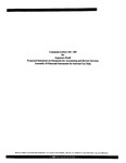 Comment letters 184-283 for exposure draft proposed statement on standards for accounting and review services: Assembly of financial statements for internal use only