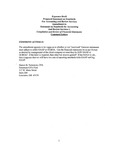 Comment letters on Proposed Statement on Standards For Accounting and Review Services Amendment to Statement on Standards for Accounting And Review Services 1, Compilation and Review of Financial Statements