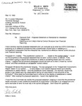 Comment letters on Proposed Statement on Standards for Attestation Engagements Reporting on an Entity's Internal Control Structure Over Financial Reporting