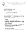 Proposed Statement on Auditing Standards: Consideration of fraud in a Financial Statement Audit (Redrafted