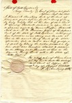 Certification for practicing law, Surry County, NC, 12 August 1832 by Francis K. Armstrong