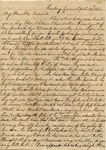 Charlotte Irwin to Eliza Treadwell, 30 April 1837 by Charlotte Irwin