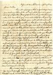 Benjamin Treadwell to Bethel Treadwell, 27 September 1837 by Benjamin D. Treadwell