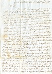 John Carruth to T.L. Treadwell, 24 September 1837 by George Carruth