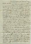 J.H. Treadwell to B.D. Treadwell, 23 October 1837 by John H. Treadwell